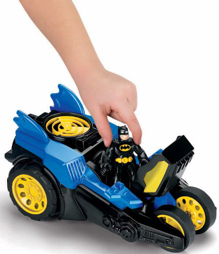 Imaginext Dc Super Friends Motorized