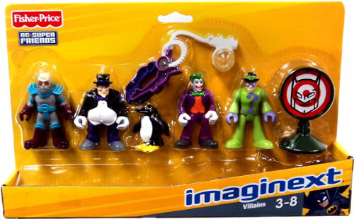 Imaginext Dc Super Friends Set Villains