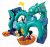 fisher-price imaginext dragon island serpent playset