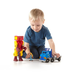 imaginext city robot ready roll featuring