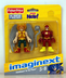 imaginext super friends hawkman flash join