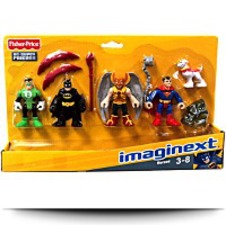 Imaginext Dc Super Friends Set Heroes
