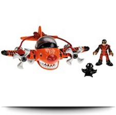 Imaginext Sky Racers Flying Tiger