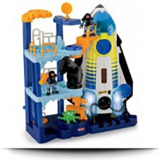 Imaginext Space Shuttle And Tower