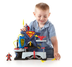 imaginext super friends superman playset adventure
