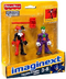 imaginext super friends joker harley quinn