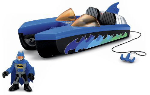 Imaginext Dc Super Friends Batboat