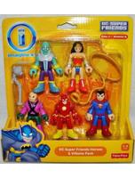 Dc Super Friends Heroes And Villains